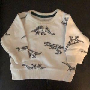Carter's Dinosaur Sweatshirt - Sz 3M